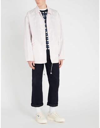 Marni Box-fit rain coat