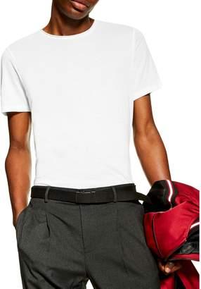 Topman Smart Raw Hem Knitted T-Shirt