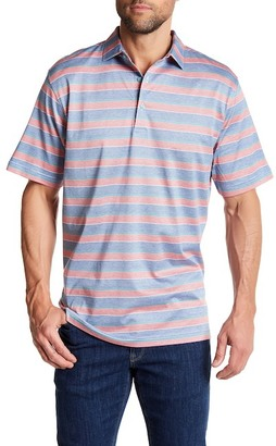 Peter Millar Floyd Stripe Cotton Polo $95 thestylecure.com