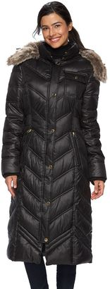 Women's Apt. 9® Quilted Hooded Puffer Jacket $220 thestylecure.com