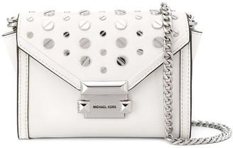Michael Kors Whitney studded satchel bag