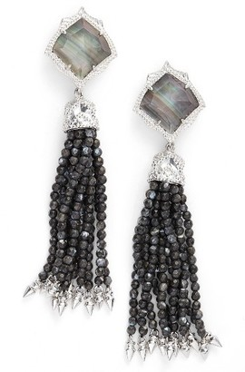 Women's Kendra Scott Misha Tassel Earrings $125 thestylecure.com