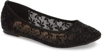 Ralph Lauren Lorraine Betsy Embellished Flat