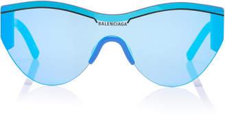 Balenciaga Sunglasses Cat-Eye Acetate And Nylon Sunglasses