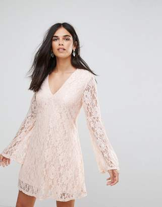 AX Paris Bell Sleeve Lace Dress