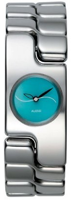 Alessi (アレッシー) - Alessiレディースal15001 Mariposa stainless-steelブレスレットandブルーダイヤル腕時計