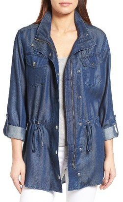 Women's Nydj Denim Anorak $168 thestylecure.com