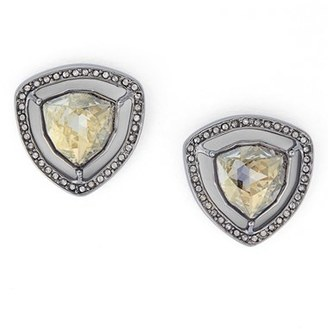 Women's St. John Collection Swarovski Crystal Earrings $150 thestylecure.com