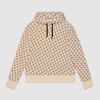 Gucci stamp cotton sweatshirt