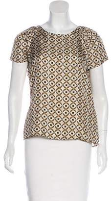 Etro Printed Silk Top