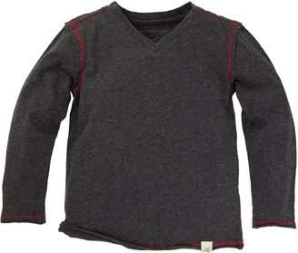 Burt's Bees Baby Baby Organic Long Sleeve Reverse Seam High V Tee Shirt