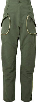 TRE Giovanna Cotton And Linen-blend Tapered Pants