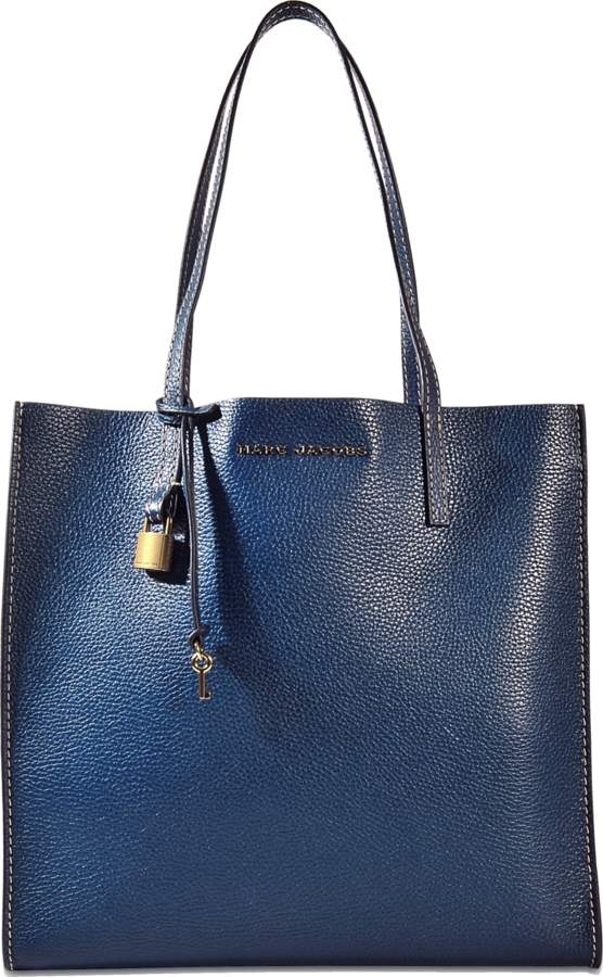 The Grind Shopper Bag in Blue Sea Cow Leather Marc Jacobs NigiVdqddY