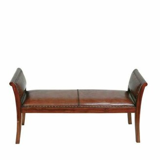 Eichholtz Leather Bench