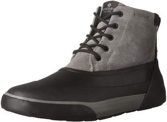 Sperry Men's Cutwater Deck Ankle Boots, Noce/Black