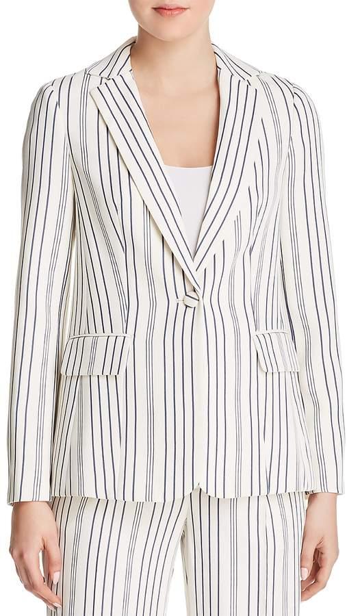True Striped Blazer
