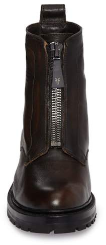 Frye Julie Front Zip Combat Boot