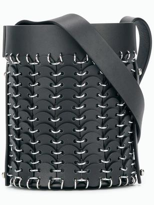 Paco Rabanne small bucket bag $1,180 thestylecure.com