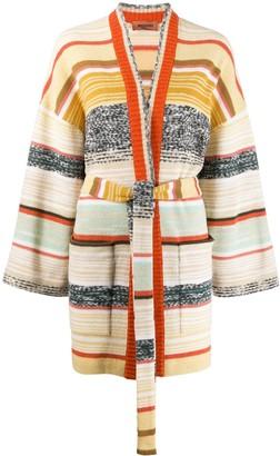 Missoni color block stripes cardigan