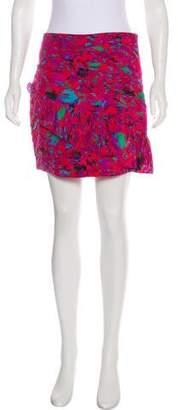 Twelfth Street By Cynthia Vincent Silk Printed Skirt