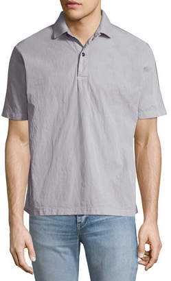 Stone Island Men's Back-Graphic Polo Shirt