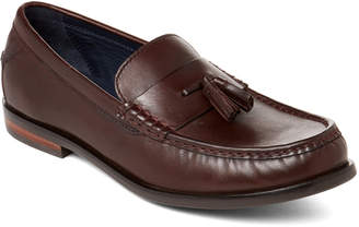 Cole Haan Cordovan Handstain Pinch Friday Tassel Contemporary Penny Loafers