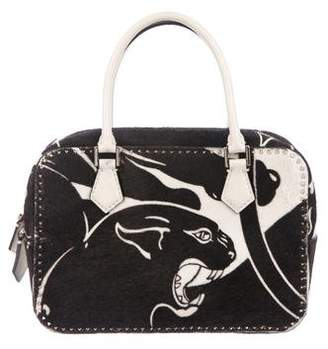 Valentino Panther Small Double Handle Bag