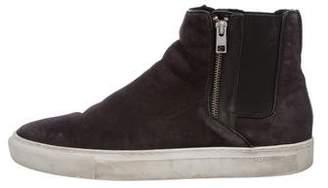 AllSaints Suede Chelsea Sneakers