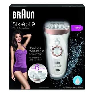 Braun Silk-Epil 9561 Wet & Dry Epilator 1 ea