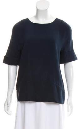 Maiyet Silk Short Sleeve Top