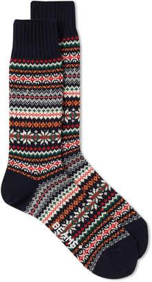 Beams Fair Isle Sock