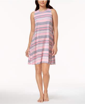 Whisperluxe Sleeveless Printed Nightgown