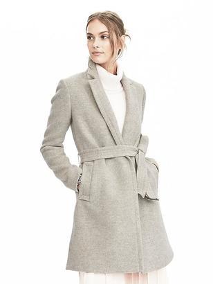 Long Wrap Coat $268 thestylecure.com