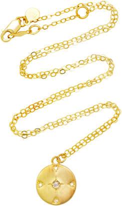 Ila Atlas 14K Gold Diamond Necklace