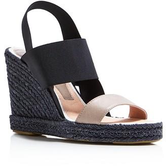 Delman Jamie Espadrille Wedge Slingback Sandals $228 thestylecure.com