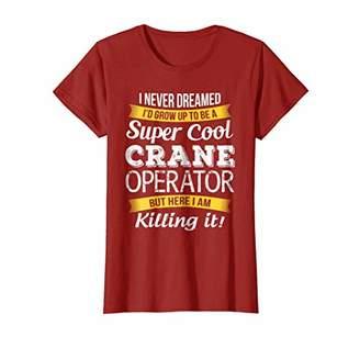 Super Cool Crane Operator T-Shirt Funny Gift