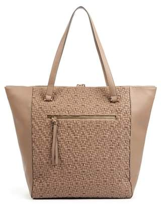 Sole Society Woven Faux Leather Tote