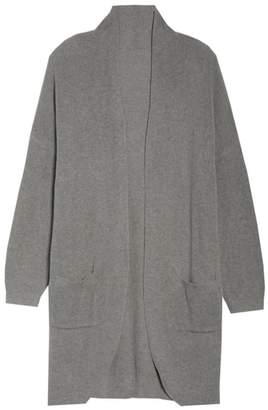 BP Stitch Curve Hem Cardigan