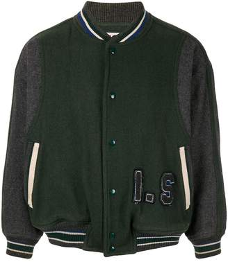 Issey Miyake Pre-Owned 1980's Sports Line logo bomber
