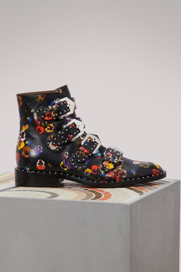 Givenchy Elegant pansies ankle boots