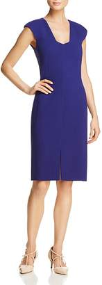 Paule Ka Crepe Sheath Dress