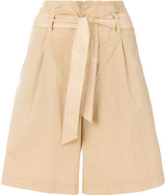 Barena tie waist shorts