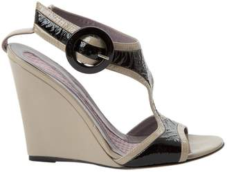 Anya Hindmarch Patent leather sandal
