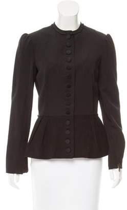 Lanvin Wool & Linen-Blend Jacket