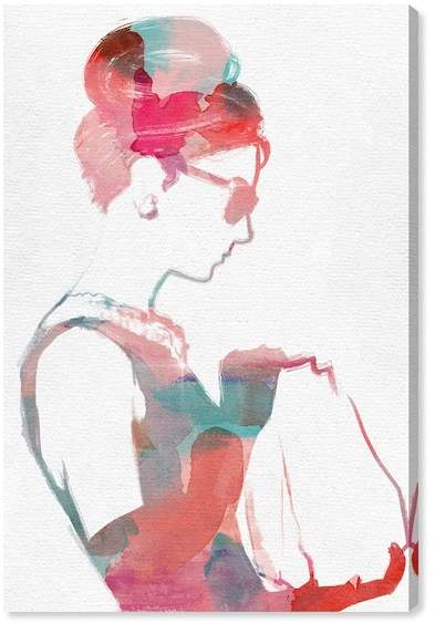 Oliver Gal Gallery Watercolor It Girl Canvas Art - 16