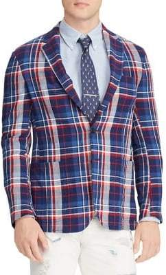 Polo Ralph Lauren Morgan Fit Herringbone Plaid Sportcoat