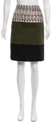 Proenza Schouler Snakeskin Knee-Length Skirt