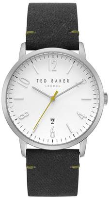 Ted Baker Daniel Synthetic Strap Watch, 42mm