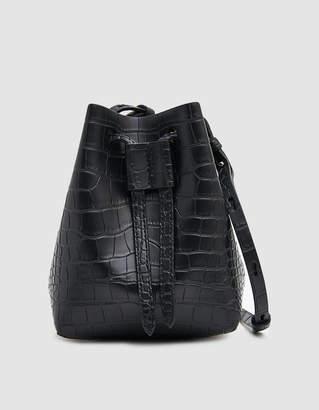 Nanushka Minee Crossbody Bag in Black