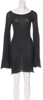 If Six Was Nine Cashmere Bell Sleeve Dress